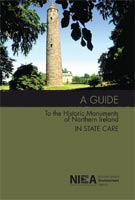 Front cover of the book - Monuments of NI in state care