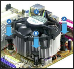 how to remove an intel heat sink